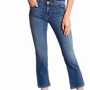 J brand Selena Crop Bootcut Jeans Ascension 30